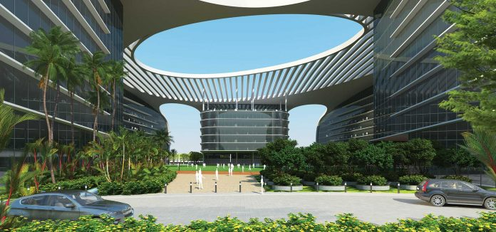 HCL Technologies Pool Campus Drive
